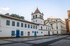 Pateo делает Colegio в городском Сан-Паулу - Сан-Паулу, Бразилии стоковая фотография