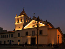 Pateo hace el sao Jose Ancheita de Collegio - de Igreja Imagen de archivo libre de regalías