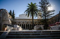 Pater Noster church. On Mount of Olives in Israel Stock Photo
