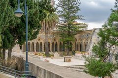 Pater noster church Royalty Free Stock Images