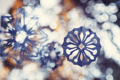 Pater snowflakes Stock Image