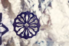 Pater snowflakes Royalty Free Stock Images