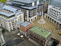 Patermoster Londres cuadrado Imágenes de archivo libres de regalías