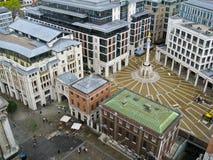 Patermoster Vierkant Londen Royalty-vrije Stock Afbeeldingen