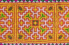 patern无缝的五颜六色的织品 免版税图库摄影