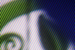 patern象素电视 库存图片