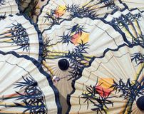 patern ομπρέλες Στοκ φωτογραφία με δικαίωμα ελεύθερης χρήσης