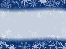 patern χειμώνας πλαισίων Χριστ&omic Στοκ Εικόνα