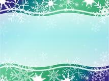 patern χειμώνας πλαισίων Χριστ&omic Στοκ φωτογραφίες με δικαίωμα ελεύθερης χρήσης