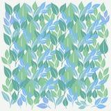 Patern bakgrundsvektor för abstrakt enormt blad fritt stock illustrationer