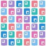 Patern color square Stock Image