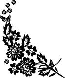 Patern with flower branch Royalty Free Stock Photos