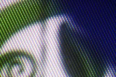 Patern het pixel van TV Stock Afbeeldingen