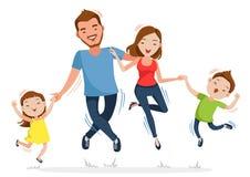 paternidad stock de ilustración