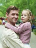 Paternità di felicità Fotografia Stock