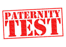 PATERNITY TEST Royalty Free Stock Photos
