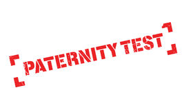 Paternity Test rubber stamp Stock Images