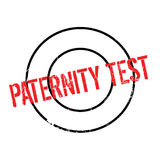 Paternity Test rubber stamp Stock Photo