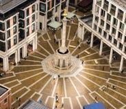 Paternoster придает квадратную форму, Лондон, 27th, июль 2017 Стоковые Фотографии RF