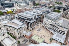 Paternoster Londra quadrata fotografia stock libera da diritti