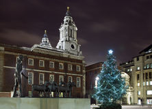Paternoster Square Christmas Stock Images