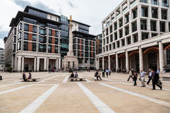Paternoster Square London Royalty Free Stock Photo