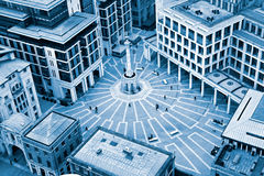 Paternoster Square, London, England Royalty Free Stock Photos