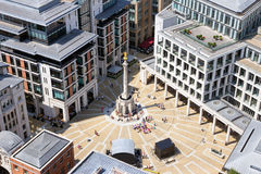 Paternoster Square in London Stock Photos