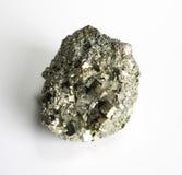 Paterrn del mineral de la pirita Foto de archivo