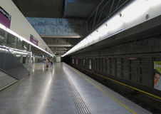 Paterstern subway station in Vienna Stock Image