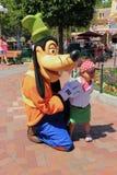 Pateta em Disneylândia Califórnia Fotos de Stock