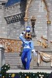 Pateta no mundo de Disney Fotos de Stock Royalty Free
