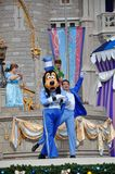 Pateta no mundo de Disney Foto de Stock Royalty Free