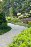 Path. A helthy green strolling path Royalty Free Stock Photography
