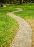 Path. This path in a park.It\'s a very beautiful view Royalty Free Stock Photography