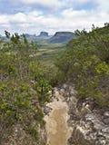 Path. A walking path at Chapada, Brazil Royalty Free Stock Image