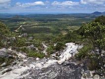 Path. A walking path at Chapada, Brazil Stock Photos
