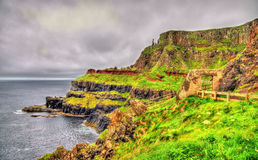 Path along the Giant's Causeway Stock Image