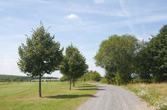 A Path Along a Golf Course in Germany Stock Photography