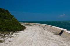 Path along the ocean Royalty Free Stock Photos
