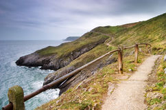 Path along the sea Royalty Free Stock Photo