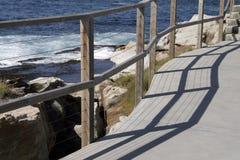 Path Along The Coast Stock Image