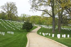 Path Arlington National Cemete Royalty Free Stock Photography