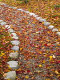 Path in autumn Royalty Free Stock Images