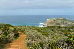 Path with beautiful sea view Royalty Free Stock Photo