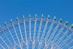 Path of big amusement ferris wheel Royalty Free Stock Images
