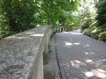 Path through the botanical garden Stock Photo