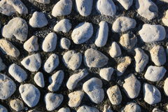 Path built with stones Stock Photo