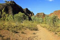 The path in Bungle Bungles (Purnululu) - Purnululu National Park Royalty Free Stock Image