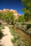 Path at the Calf Creek Royalty Free Stock Photo